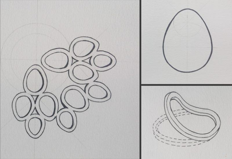 Konstruktionszeichnung Eggily