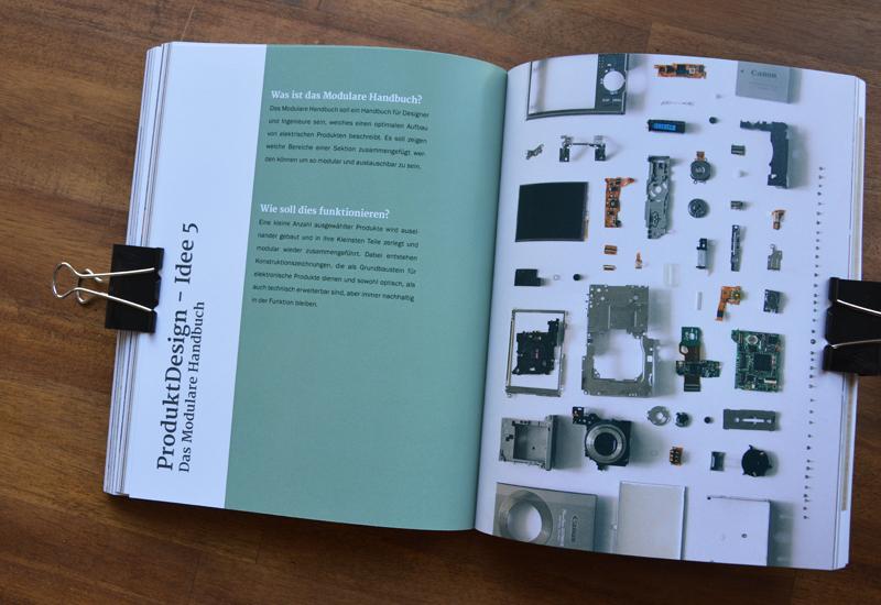Idee der Umsetzung - Modulares System für Designer